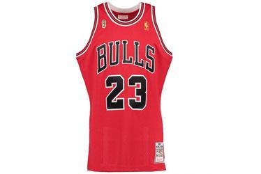 Maillots de Michael Jordan